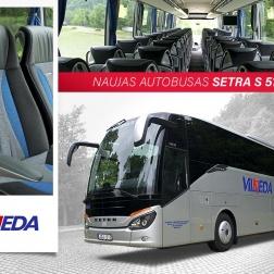SETRA S517 HD, 56 vietų, 2016 metų!