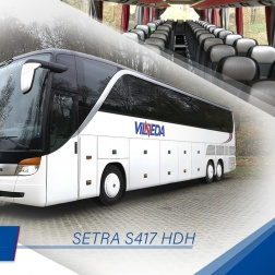 SETRA S 417 HDH, 59 мест!