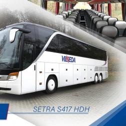 SETRA S 417 HDH, 59 seats!