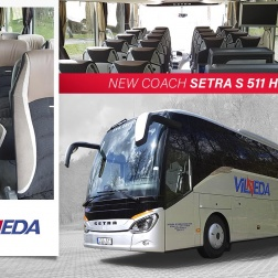 SETRA S 511 HD, 2017 metų!
