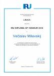 IRU garbės diplomai 2016